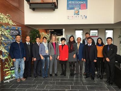 Visite d'une délégation chinoise de Southwest University (SWU), Chongqing