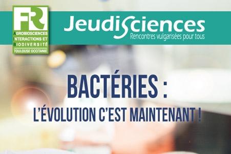 P. Remigi : Bactéries, l'évolution c'est maintenant !