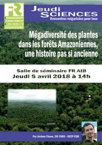 J. CHAVE - Mégadiversité des plantes dans les forêts Amazoniennes