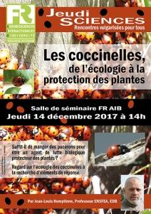 J.-L. HEMPTINNE - Les coccinelles, de l'écologie à la protection des plantes