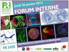 Affiche forum interne 2012